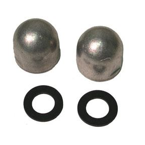 00050A Mercruiser Alpha 1 Gimbal Housing Bolt Headnut Anodes (2-60807A)