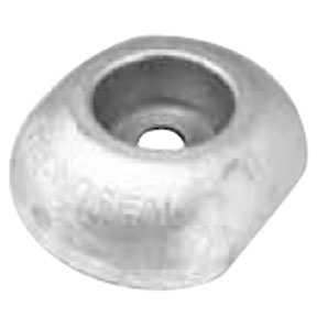 00102UK: 110mm Disc Rudder Anode with insert