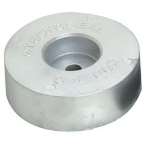 00140: 2.7kg Disc Transom/Stern Anode