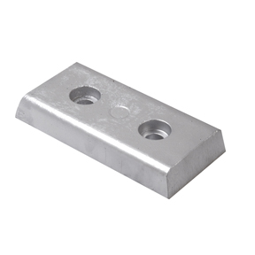 00231AL: 1.60kg Bolt On Bar Hull Anode