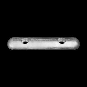 00272E Zinc Bolt On Bar Fairline-Sunseeker Hull Anode