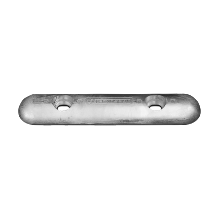 00272E Zinc Bolt On Bar Fairline-Sunseeker Hull Anode