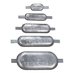 00306MG: 1.5kg Weld On Bar Hull Anode