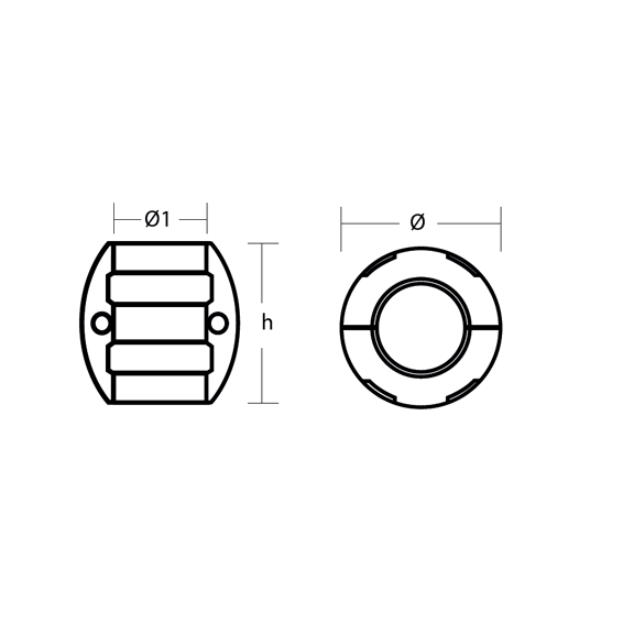 00500 series 2 hole technical specifications