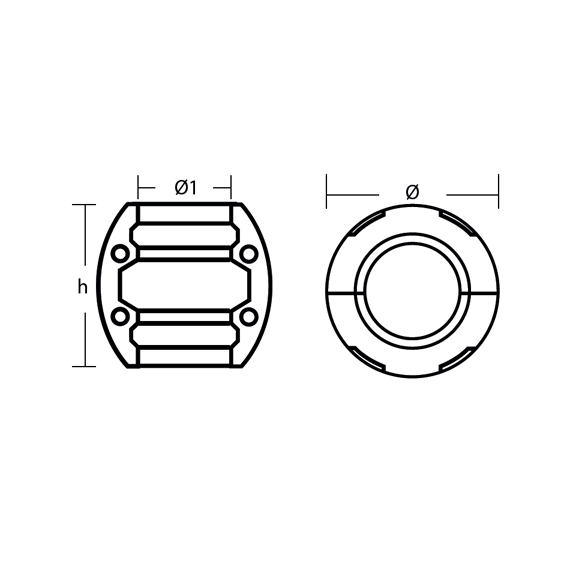 00500 series 4 hole technical specifications