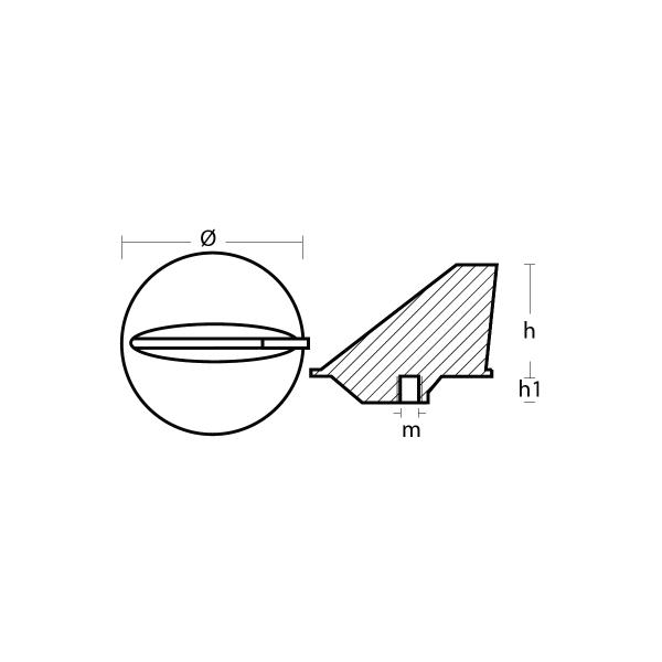 00800 Short Skeg technical specification