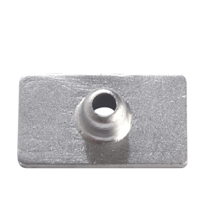 00809: Plate Anode for Mercury 4.5-9 HP up to 1987/Fino AL 1987