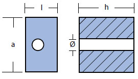 00907 OMC Johnson Anode Technical Drawing