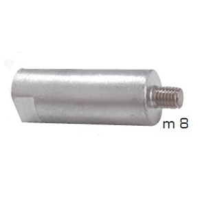 01306: Pencil Anode for Yanmar Diameter 20mm x Length 55mm