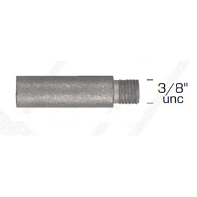 01318: Pencil Anode for Yanmar Diameter 12.5mm x Length 30mm