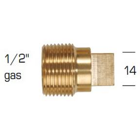 "02023TP: Plug for Caterpillar 1/2"" GAS - 1/2"" BSPT"