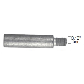 02024: Pencil Anode for Caterpillar Diameter 16mm x Length 63mm