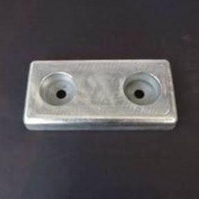 AL40buk 1.6kg Aluminium Bolt On Hull Anode