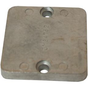 CM34762Z Zinc Mercury/Mercruiser Gimbal Plate Anode (Mercury part: 34762A1)
