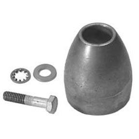 CM865182KIT Mercury/Mercruiser (2004+) Bravo 3 Prop Nut Anode (With Screw)
