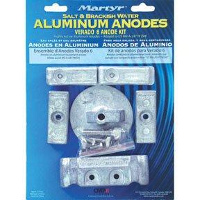 CMVERADO6KITA Aluminium Mercury Verado 6 Cylinder Anode Kit