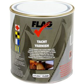 Flag Yacht Varnish 2.5 Litre