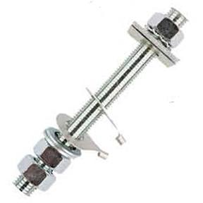 M10BSS M10 Stainless Steel Stud Assemblies C/W Nuts & Washers For Wood/GRP