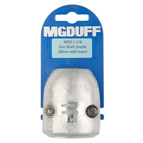 MGD118 To Suit 1 1/8″ Zinc Shaft Anode With Insert