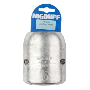 MGD134 To Suit 1 3/4″ Zinc Shaft Anode With Insert