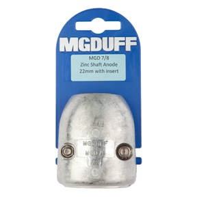 MGD78 To Suit 7/8″ Zinc Shaft Anode With Insert
