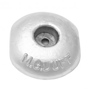 ZD58 Zinc Disc Anode 2.2kg 150mm x 125mm