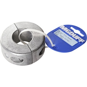ZSC35 To Suit Diameter 35mm Zinc Shaft Collar Anode