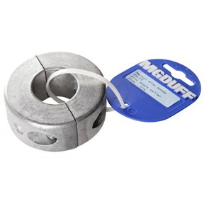 ZSC45 To Suit Shaft Diameter 45mm Zinc Shaft Collar Anode