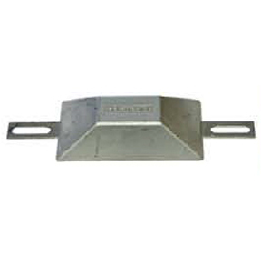 CM1000Z European Style 1.0kg Zinc Bolt On Hull Anode