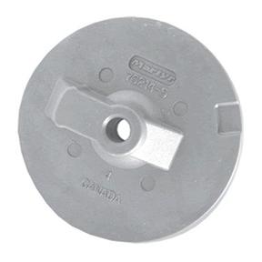 CM762145 Mercury/Mercruiser New Generation - Circular Plate/Trim Tab Anode (Threaded Hole)