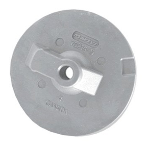CM762145Z Mercury/Mercruiser New Generation - Circular Plate/Trim Tab Anode (Threaded Hole)