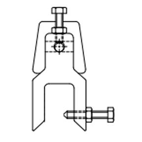 MME Mild Steel M Clamps