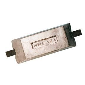 MME16Z 16.9kg Weld On Zinc Hull Anode
