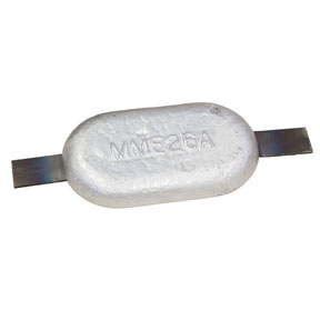 MME26A 3.2kg Weld On Aluminium Hull Anode