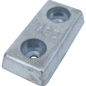 40ZHD 4kg Zinc Bolt On Hull Anode