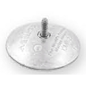 ZD52 Zinc Disc Anode (Pair) With Bolt 47mm Diameter