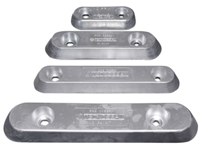 00222: 2.7kg Bolt On Plate VET Anode