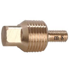 "00714TPM: Plug for Volvo 200-250-270 1/2"" BSPT M8"