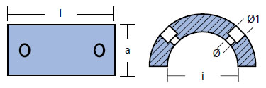 01026: 83mm Gori Propeller Zinc Anode tech