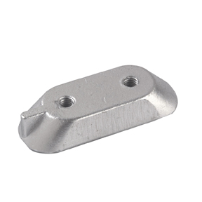 01123: Plate Anode for Yamaha 4-6-8-9.9-15 HP up to 1989 Series