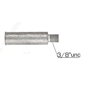 01316: Pencil Anode for Yanmar Diameter 12.5mm x Length 32mm