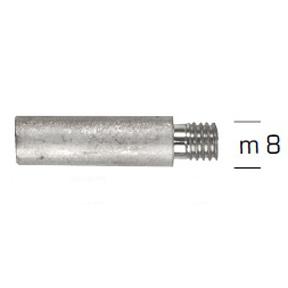 02032: Pencil Anode for Onan Diameter 10mm x Length 31mm