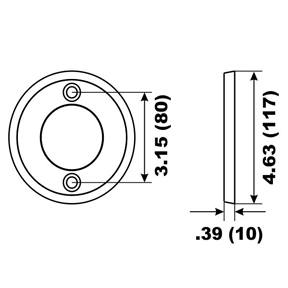 00114A Volvo Penta V-17 Prop Ring Anode 250/270/275 Series