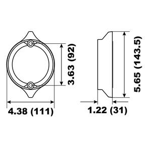 00116A Volvo Penta Duo Prop Ring Anode 290 Series 35mm