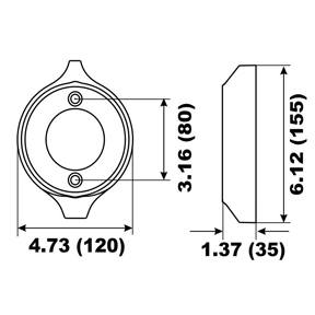 00161A Volvo Penta V18 Prop Ring Anode 280 Series (2-60703A)