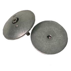R1875 Rudder/Trim Tab Half Flange Anode – 1 7/8″ (48mm Dia) Pair