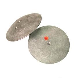 R5000A Rudder/Trim Tab Half Flange Anode (127mm Dia) Pair