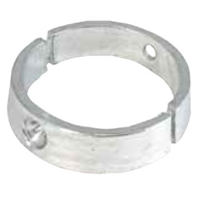 01036 VF 70 Varifold 2 Blade Saildrive 84mm Ring Collar Anode