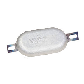 MME10MB 0.8kg Bolt On Magnesium Hull Anode