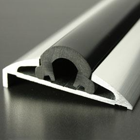 ALI 585 Boat Rub Rail Shown with PVC 1000 Insert photo angle